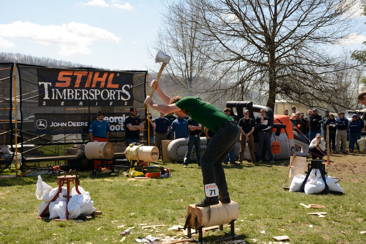 STIHL TIMBERSPORTS® U.S. Collegiate Championship Competitor Field Set