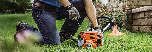 How to Start a STIHL
